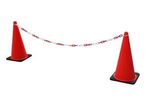 Plastic Traffic Cone Chain Las Vegas