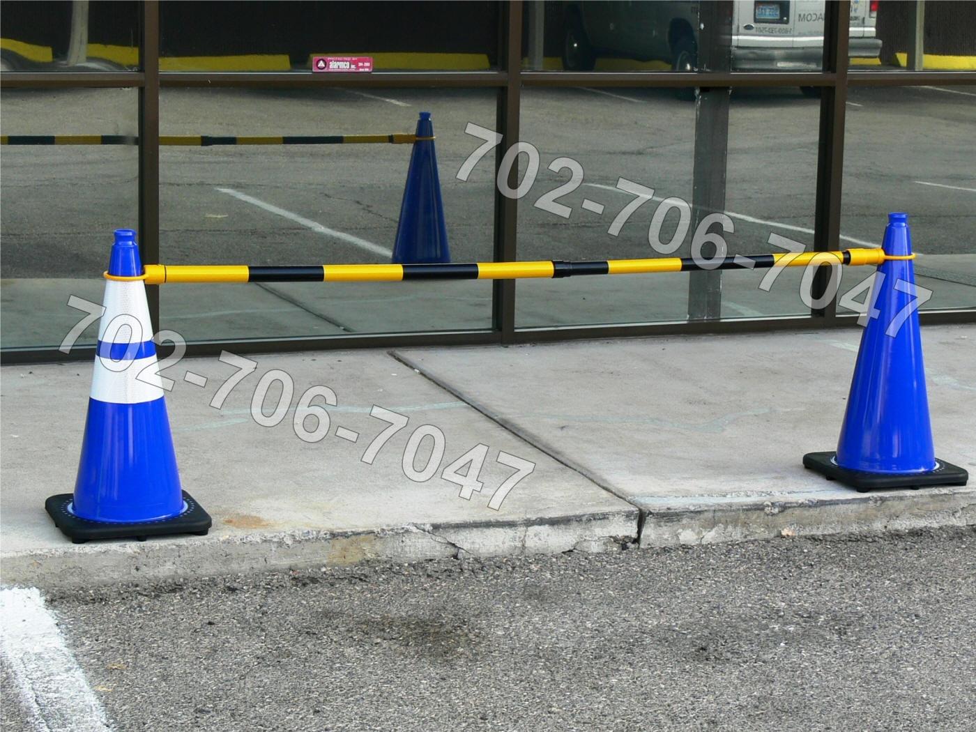 JBC Blue Traffic Cone Supplier