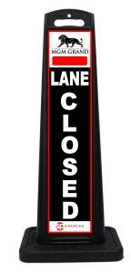 Lane Closed Sign