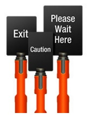 Outdoor Valet Signs